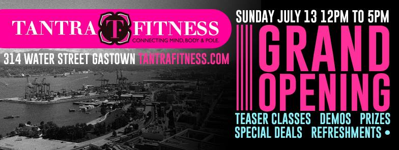 tantra fitness gastown opening