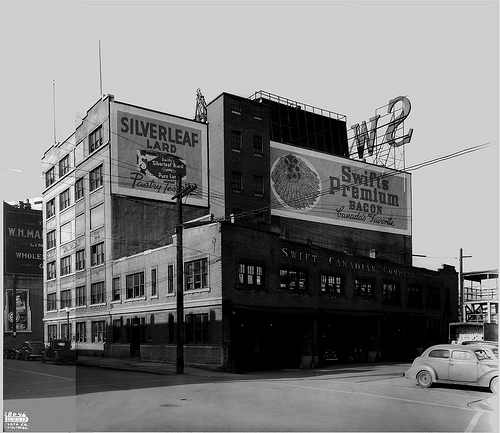 The Packing House - Photo Credit to Vancouver Public Library no. 26331. Year 1944
