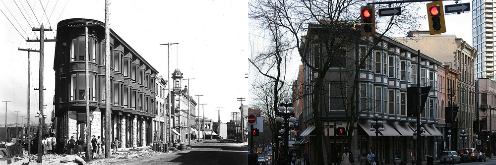 Holland Block. Then and Now.