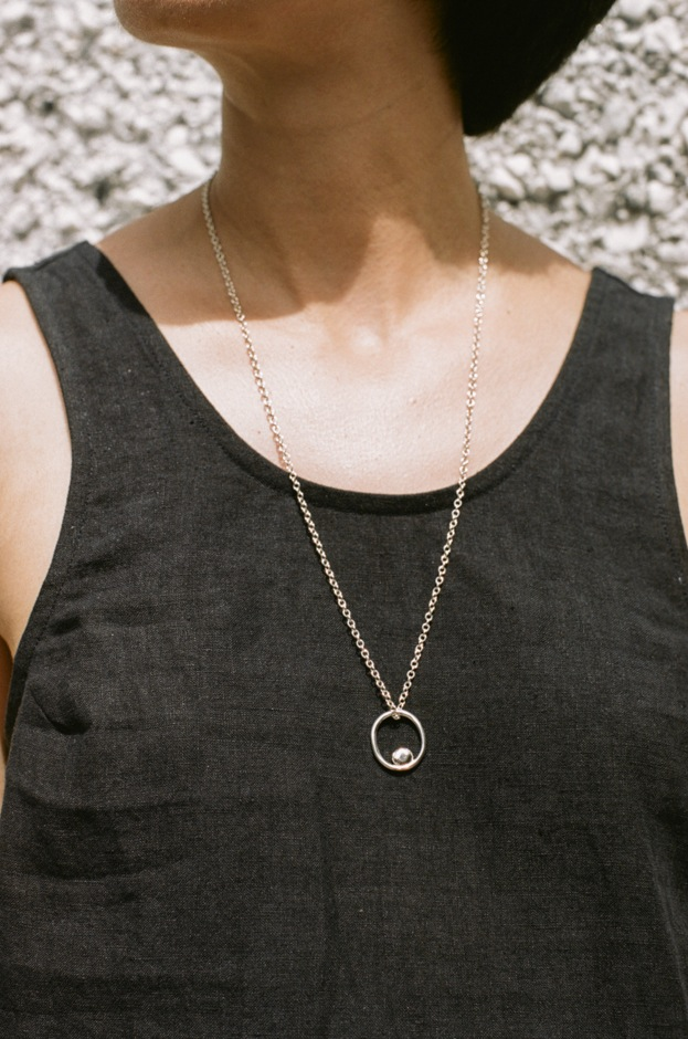 Catherine Hartley Olive Necklace 1