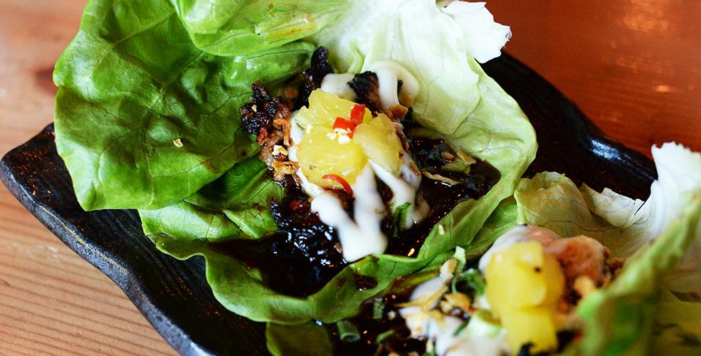 Sprung Chicken Bao Down