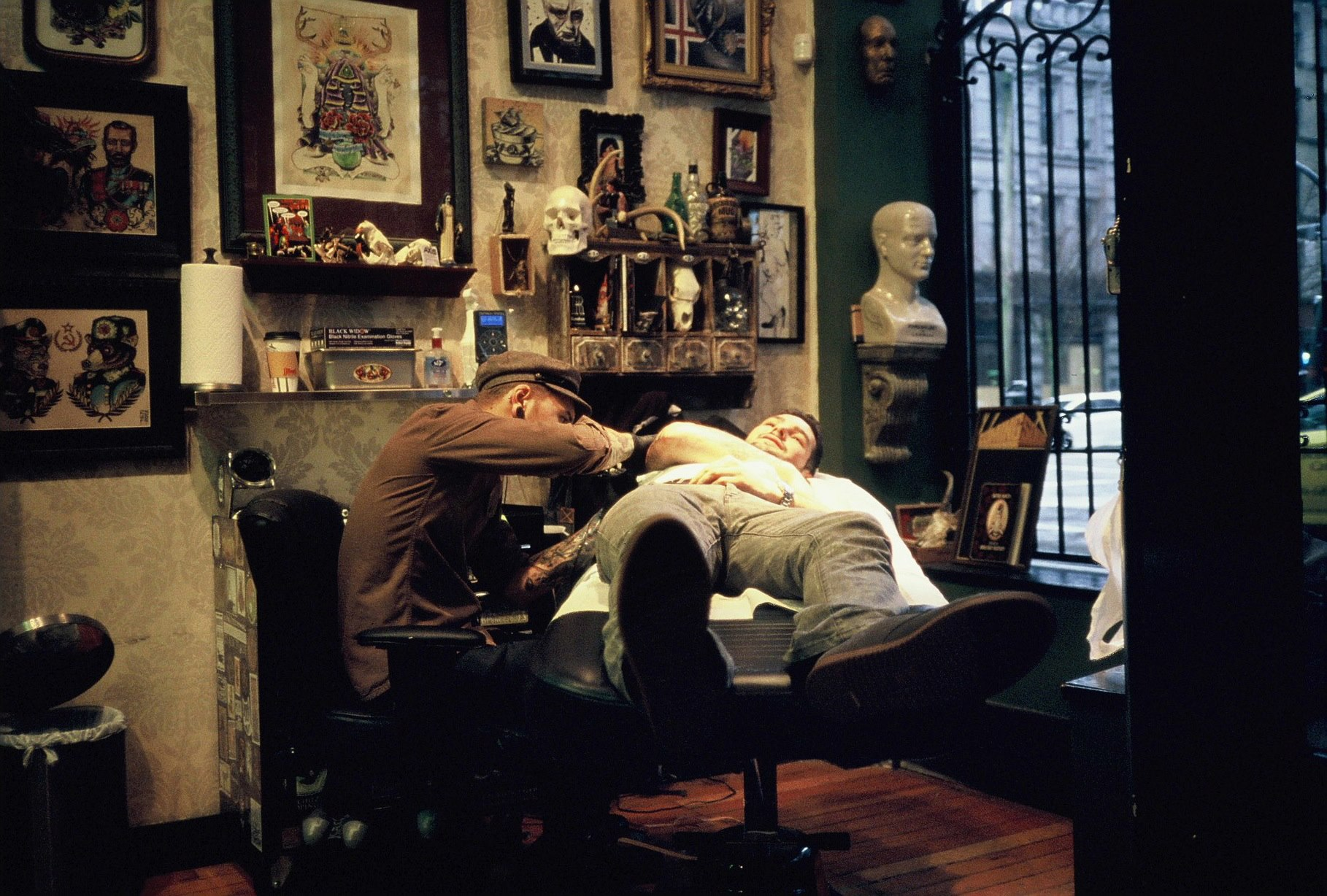New year new you gastown for The parlour tattoo