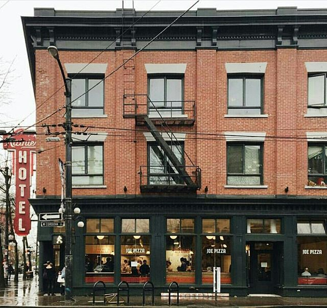 Opening soon! Joe Pizza.  Gastown's newest place to get a hot slice.  @eatjoepizza