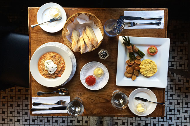 Best places to find brunch in gastown gastown - French cuisine vancouver ...